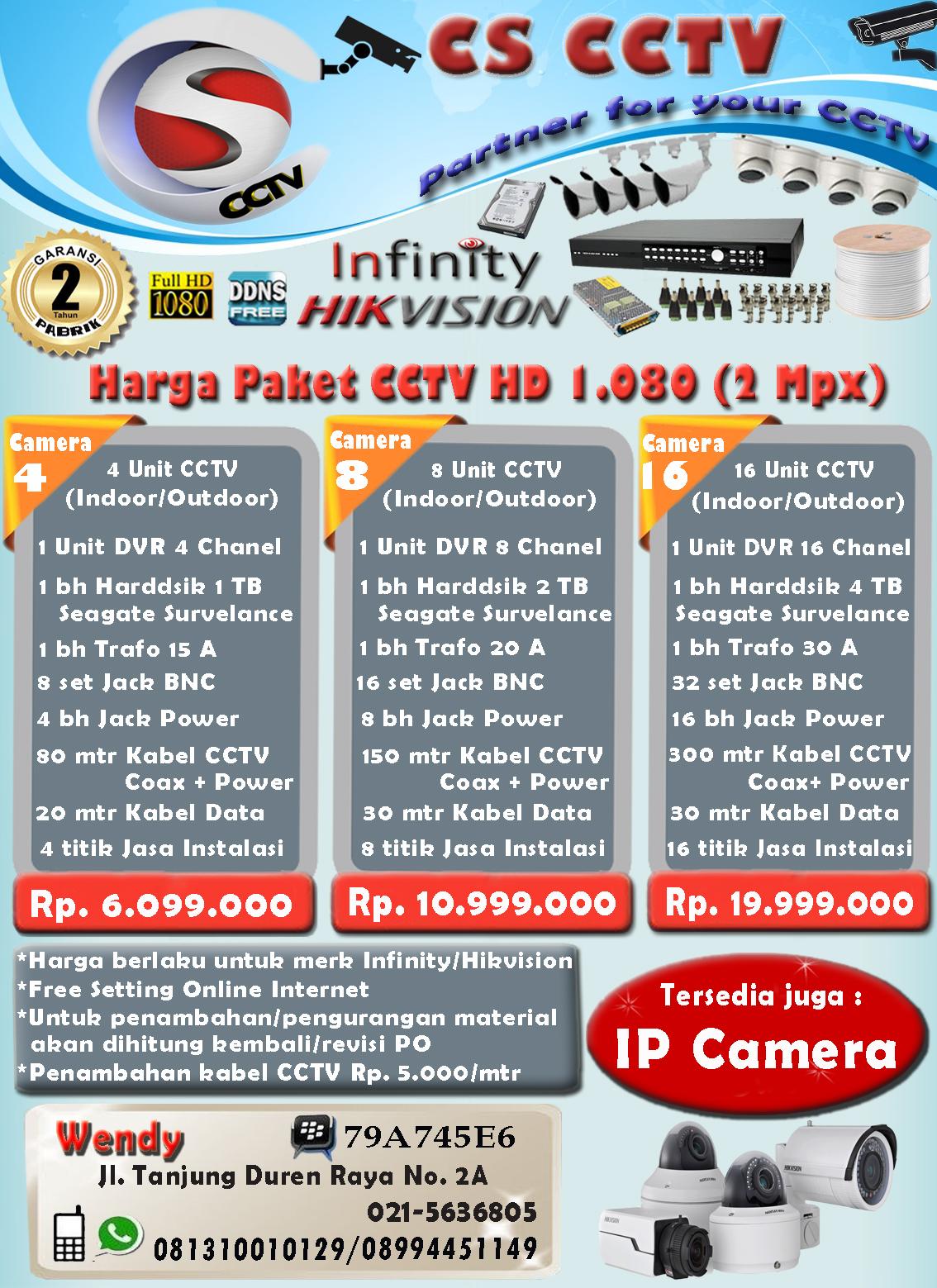 Brosur CCTV & Price